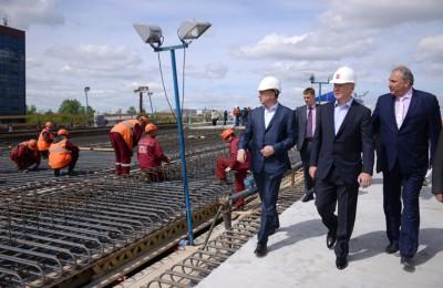 Мэр Москвы Сергей Собянин проинспектировал ход реконструкции Рябиновой улицы