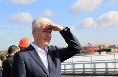 Сергей Собянин рассказал о развитии дорожного строительства в городе