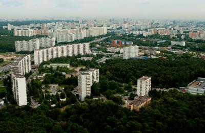 Панорама Южного административного округа Москвы