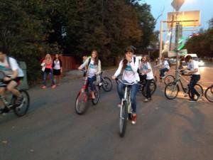 Велопробег «Спорт против ВИЧ» прошел в столице