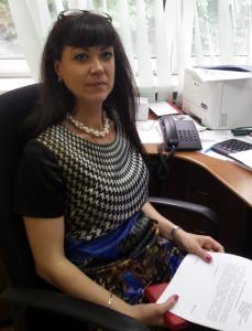 Начальник отдела торговли и услуг управы района Чертаново Южное Юлия Левшенкова