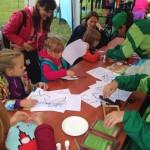 Дети приняли участие в мастер-классах