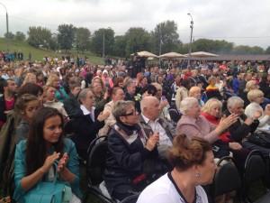 Праздник в Коломенском посетили множество жителей ЮАО