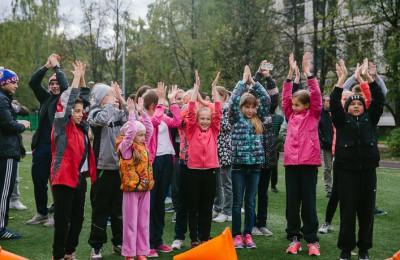 На территории школы №629 в районе Чертаново Южное прошел фестиваль спорта