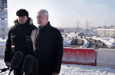 Мэр Москвы Сергей Собянин рассказал о реконструкции Калужского шоссе