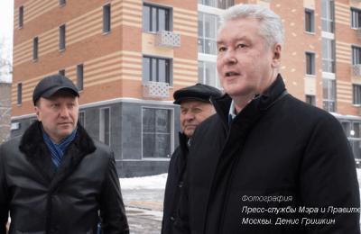 Мэр Сергей Собянин рассказал о жилищном строительстве в Москве