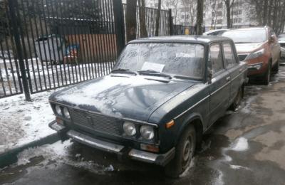 На территории района Чертаново Южное в январе выявлено два брошенных транспортных средства