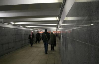 В Москве пешеходные переходы и поезда начали покрывать антивандальной краской