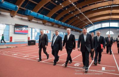 Мэр Москвы Сергей Собянин сегодня посетил Московский государственный строительный университет (МГСУ)