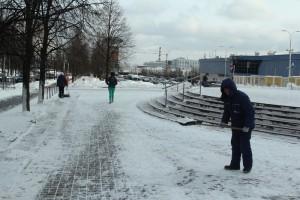 Гололед в Москве сохранится до выходных