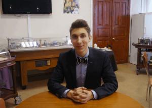Студент колледжа управления, гостиничного бизнеса и информационных технологий  «Царицыно» Всеволод Колобов