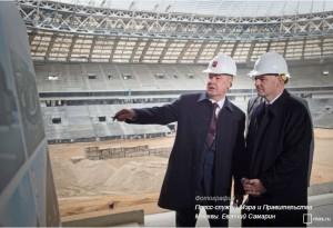 Мэр Сергей Собянин осмотрел стадион «Динамо» на севере Москвы