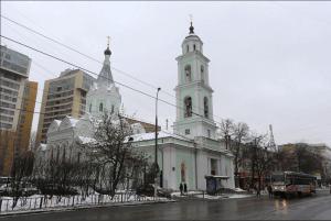 Церковь на улице Шаболовка