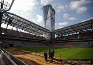 Стадион ЦСКА в Северном округе Москвы