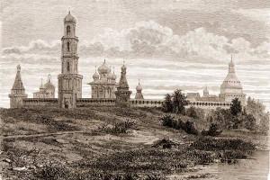 Симонов монастырь (рисунок)