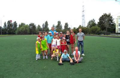 Школьники района Чертаново Южное завоевали второе место на соревнованиях в лагере «Юный пожарный»