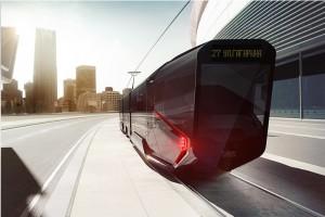 Модель трамвая R1 (Russia One)