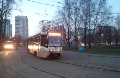 В районе Чертаново Южное временно отменили трамвайный маршрут №1