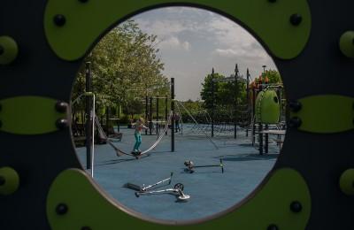 """Площадка в парке """"Садовники"""""""