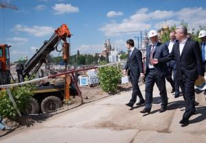 Мэр Москвы Сергей Собянин рассказал о строительстве парка Зарядье