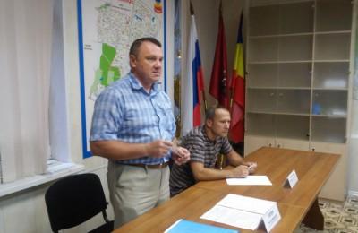 Глава управы района Чертаново Южное Михаил Гелун