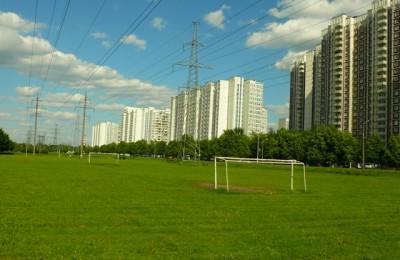 Парк в районе Братеево