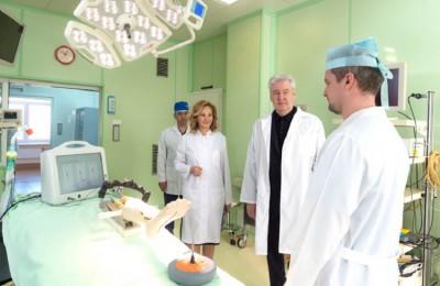 В Москве больничная смертность от инфарктов снижена втрое за 5 лет, сообщил Сергей Собянин