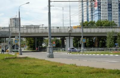Варшавское шоссе в районе Чертаново Южное