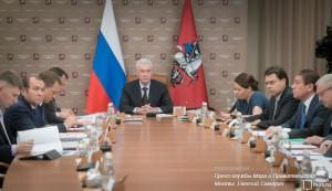 Москва полностью готова к новогодним праздникам, сообщил Сергей Собянин