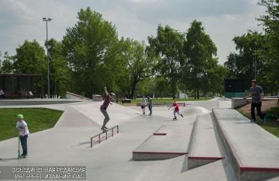 Любители скейтбордов и роликовых коньков 28 августа смогут посетить «Фестиваль маленьких колес» в одном из парков ЮАО
