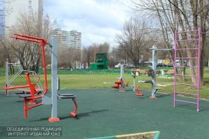В Битцевском лесу оборудуют детские и спортивные площадки
