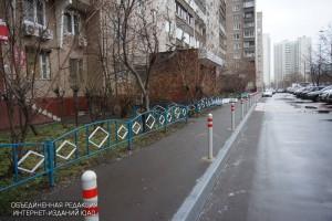 На одной из улиц района обустроят новые пешеходные дорожки