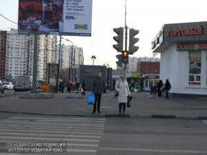 На улице Газопровод отремонтировали тактильную плитку