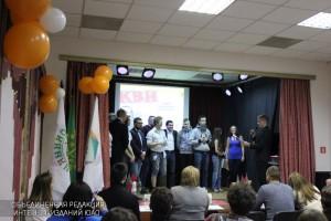 К 195-летию Достоевского молодежные палаты ЮАО соревновались в игре в КВН