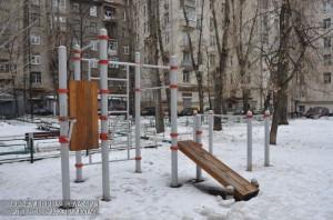 Ремонт детских площадок выполнили в районе по двум адресам