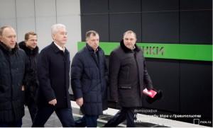 Мэр Москвы Сергей Собянин открыл новые станции подземки