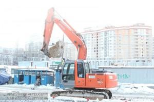 В районе отменили строительство четырех гаражных комплексов