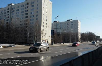 В районе Чертаново Южное отремонтировали дорожное покрытие по двум адресам