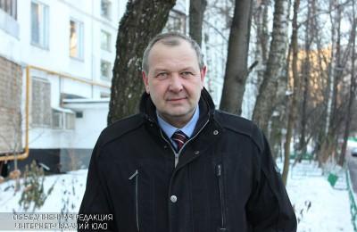 Глава управы района Чертаново Южное Николай Щербаков