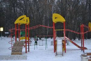 Обновленные игровые площадки открылись для жителей района