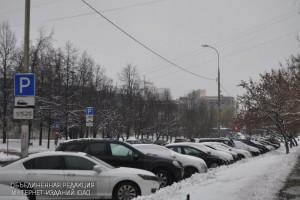 Автомобилисты смогут пользоваться парковками района бесплатно с 23 по 26 февраля