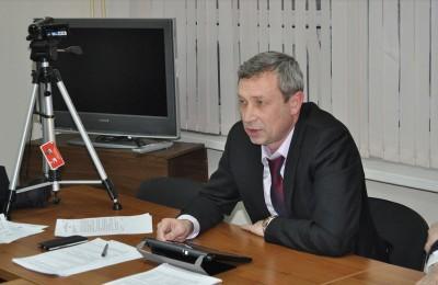 Глава муниципального округа Александр Новиков