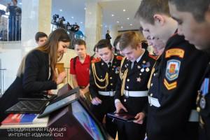 Около 5 000 школьников приняли участие в кадетском форуме