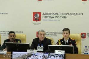 Более 120 московских школ присоединились к проекту «Кадетские классы», сообщил Игорь Павлов