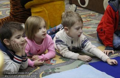 Дети в библиотеке №143
