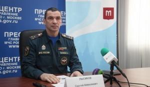 Сергей Лысиков на пресс-конференции
