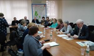 В районе Чертаново Южное состоялась встреча главы управы Николая Щербакова с активистами местного Совета ветеранов
