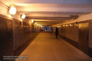 Пешеходный переход от станции Улица Академика Янгеля отремонтировали