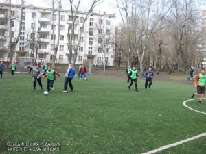 Футбольный турнир для молодежи прошел в районе Чертаново Южное