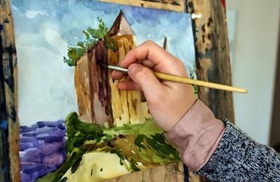 Средневековый замок участника мастер-класса